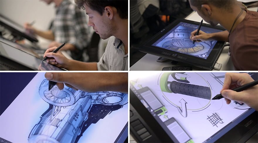 طراحی دیجیتال با محصولات وکام