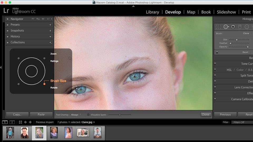 ویرایش عکس با محصولات وکام