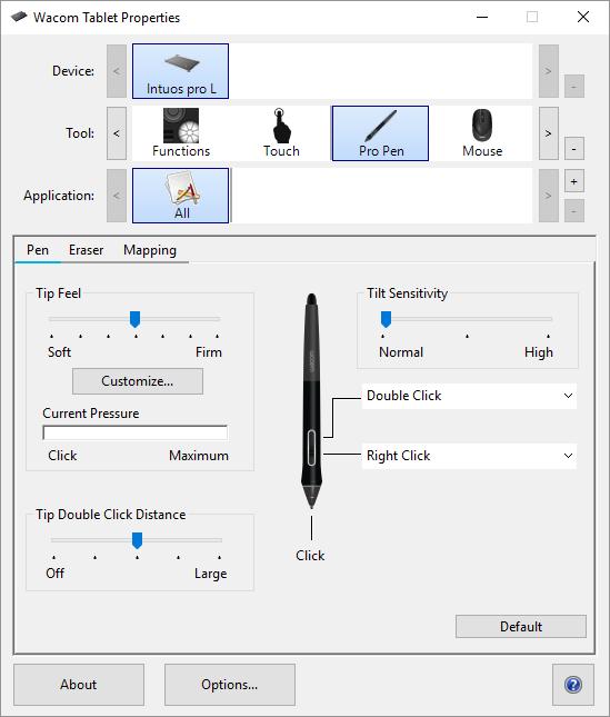 نصب قلم نوری